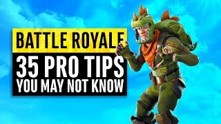 Download Fortnite Battle Royale | 35 Tips and Tricks from the Professionals Video