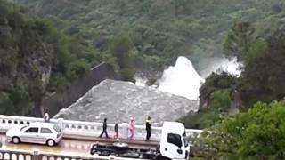 Download Dique Embalse Rio Tercero, Vertedero impresionante Video