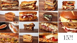 Download 15 Grilled Cheese Ideas | Happy Grilled Cheese Month!!! Video