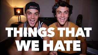 Download OUR BIGGEST PET PEEVES! // Dolan Twins Video