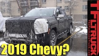 Download Is this the 2019 Chevy Silverado 1500 Spied in the Wild? Video