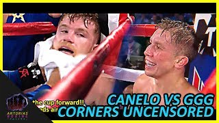 Download Canelo and Golovkin Uncensored Corners (RAW Audio English Subs) #CaneloGGG2 Video