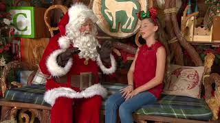 Download Visiting Santa at the Redwood Creek Challenge Trail at Disney California Adventure! Video