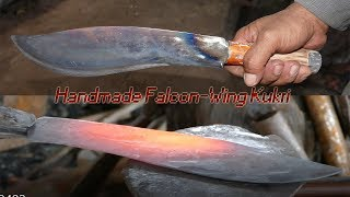 Download Forging A Falcon-Wing Kukri Which Is Used By Toddy Palm Juice Maker In Cambodia: កាំបិតត្នោត Video