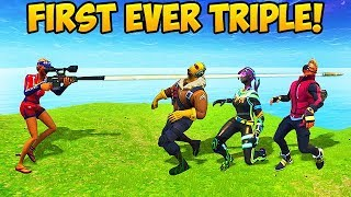 Download 3 KILLS WITH 1 BULLET! - Fortnite Funny Fails and WTF Moments! #261 (Daily Moments) Video