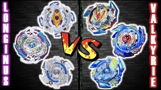 Download New Series! | Longinus Line VS Valkryie Line | Beyblade Burst Generation Battle Video