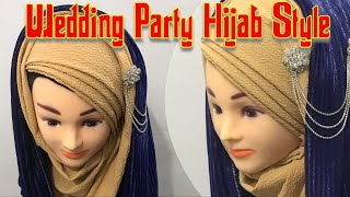 Download Wedding Party Hijab Style with 2 Hijab Full Coverage | Hijabi Video