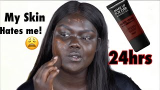 Download How long did it Really last..?! *NEW MUFE 24HR Matte Velvet Foundation*|| Nyma Tang Video