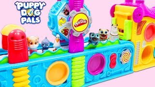 Download Disney Jr Puppy Dog Pals Use Magic Play Doh Mega Fun Factory Playset to Make Surprise Toys! Video