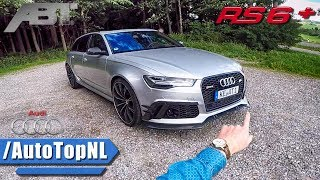 Download 705HP Audi RS6+ ABT POV REVIEW on AUTOBAHN by AutoTopNL Video