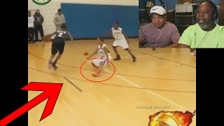 Download Dad Reacts to Crazy Basketball Crossovers & Ankle Breakers Compilation! Video