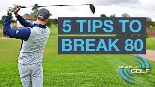 Download 5 GOLF TIPS TO BREAK 80 Video