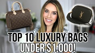 Download TOP 10 BEST LUXURY DESIGNER BAGS UNDER $1,000 | Shea Whitney Video