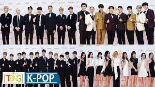 Download BTS·EXO·SEVENTEEN·TWICE…K-POP★ 'Golden Disc Awards' Red Carpet (방탄소년단, 트와이스, 엑소, 세븐틴, 슈퍼주니어) Video