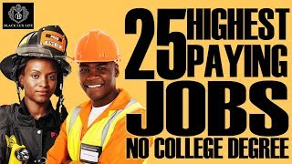 Download Black Excellist: Top 25 Jobs without 4 Year College Degree Video