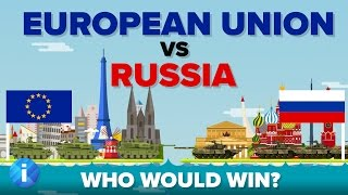 Download European Union (EU) vs Russia 2017 - Who Would Win - Army / Military Comparison Video