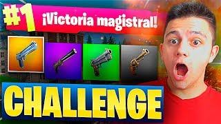 Download SOLO A PISTOLA CHALLENGE en FORTNITE: Battle Royale!! Video