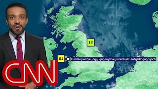 Download Weatherman nails town's super long name Video