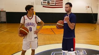 Download HALF COURT CHALLENGE VS STEPHEN CURRY Video