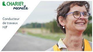 Download CHARIER recrute des conducteurs de travaux Video