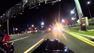 Download Bike night 8-28 riding the tunnel (port of Miami) Video