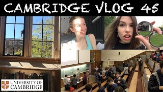 Download CAMBRIDGE VLOG 45: bad luck looms as I attend my last lectures (and I find a new love for running!) Video