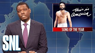 Download Weekend Update: This Is America Wins Song of the Year - SNL Video