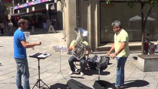 Download Flashmob Waltz n2 de shostakovich- Plaza Curros Enrriquez, Pontevedra Video