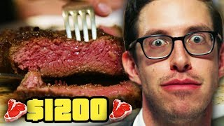 Download Keith Eats $1200 Of Steak | Eat The Menu Video