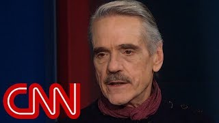 Download Jeremy Irons: Men try to 'fill the void' of lacking a womb Video