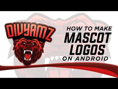 HOW TO MAKE MASCOT LOGO ON ANDROID/iOS