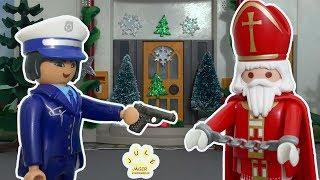 Download Playmobil Film deutsch - Wird der Nikolaus verhaftet? - Kinderfilm mit Jule Jäger Video
