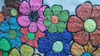 Download Cara membuat kolase bunga dari kertas warna Video