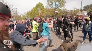 Download Trump supporters stop Antifa from blocking traffic Berkeley Ca Video