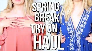 Download Spring Break TRY-ON HAUL! Video