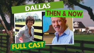 Download DALLAS FULL CAST - Then & Now Video