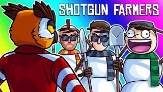 Download Shotgun Farmers Funny Moments - Our Characters in Snowman Prop Hunt! Video