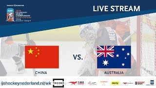 Download Live Stream WC Ice Hockey Division II Group A: China vs. Australia April 26th 2018 Video