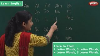 Download Reading 2 Letter Words | 3 Letter Words | 4 Letter Words | 5 Letter Words | Learn English Video