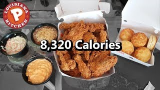 Download Popeyes 16pc Family Meal Challenge (8,000+ Calories) Video