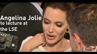 Download Angelina Jolie becomes university lecturer at London School of Economics Video