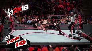Download OMG moments!: WWE 2K18 Top 10 Video