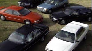 Download MotorWeek   Retro Review: '93 V8 Luxury Sedan Comparo Video