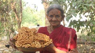 Download Traditional Snack Item with Rice Flour (జంతికలు) by My Grandma || Myna Street Food || Food Info Video