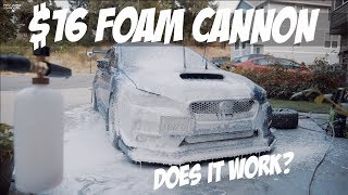 Download $16 AMAZON FOAM CANNON | DOES IT SUCK? | 2015 SUBARU WRX 2016 2017 2018 Video