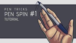 Download Pen Tricks: Pen Spin #1 Tutorial Video