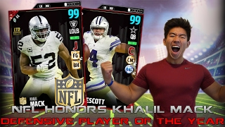 Download 99 OVR KHALIL MACK D MVP! ONE OF THE BEST CARDS IN THE GAME! MADDEN 17 ULTIMATE TEAM Video