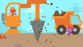 Download Sago Mini Trucks and Diggers, Cranes and Bulldozers Kids games by Sago Sago Video