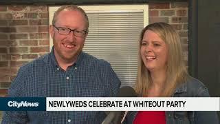 Download Winnipeg whiteout in a wedding dress Video