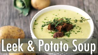 Download Creamy Leek and Potato Soup | Healthy Vegan Recipe Video